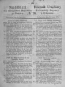 Amtsblatt der Königlichen Preussischen Regierung zu Bromberg. 1871.07.14 No.28
