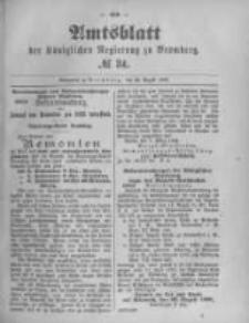 Amtsblatt der Königlichen Preussischen Regierung zu Bromberg. 1895.08.22 No.34
