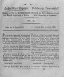 Oeffentlicher Anzeiger. 1825.02.01 Nro.5