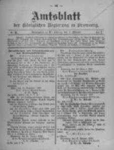 Amtsblatt der Königlichen Preussischen Regierung zu Bromberg. 1907.02.07 No.6