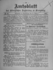 Amtsblatt der Königlichen Preussischen Regierung zu Bromberg. 1907.04.25 No.17
