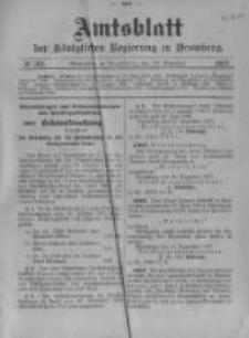 Amtsblatt der Königlichen Preussischen Regierung zu Bromberg. 1907.12.26 No.52