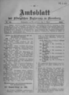 Amtsblatt der Königlichen Preussischen Regierung zu Bromberg. 1908.04.02 No.14