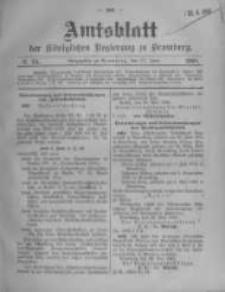 Amtsblatt der Königlichen Preussischen Regierung zu Bromberg. 1908.06.11 No.24