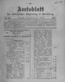 Amtsblatt der Königlichen Preussischen Regierung zu Bromberg. 1908.08.06 No.32