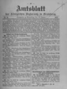 Amtsblatt der Königlichen Preussischen Regierung zu Bromberg. 1912.01.18 No.3