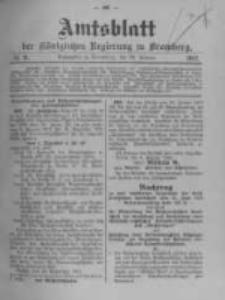 Amtsblatt der Königlichen Preussischen Regierung zu Bromberg. 1912.02.29 No.9
