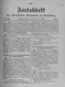 Amtsblatt der Königlichen Preussischen Regierung zu Bromberg. 1912.05.15 No.20