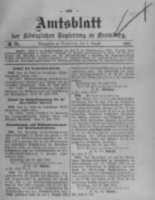 Amtsblatt der Königlichen Preussischen Regierung zu Bromberg. 1910.08.04 No.31