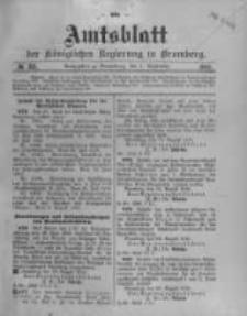 Amtsblatt der Königlichen Preussischen Regierung zu Bromberg. 1910.09.01 No.35