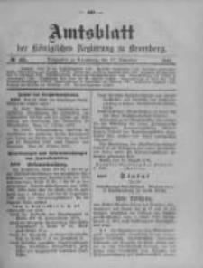 Amtsblatt der Königlichen Preussischen Regierung zu Bromberg. 1910.11.17 No.46