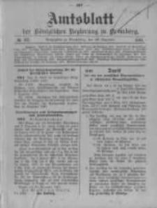 Amtsblatt der Königlichen Preussischen Regierung zu Bromberg. 1910.12.29 No.52