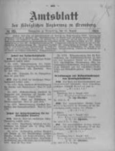 Amtsblatt der Königlichen Preussischen Regierung zu Bromberg. 1913.08.16 No.33