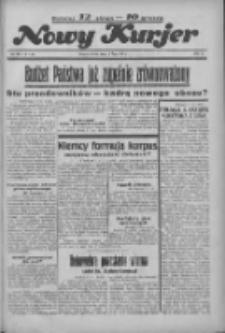 """Nowy Kurjer: dawniej """"Postęp"""" 1936.07.08 R.47 Nr156"""