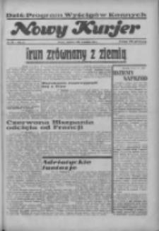 """Nowy Kurjer: dawniej """"Postęp"""" 1936.09.06 R.47 Nr207"""