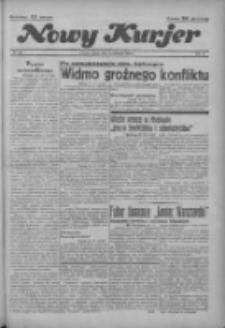 """Nowy Kurjer: dawniej """"Postęp"""" 1936.11.21 R.47 Nr272"""
