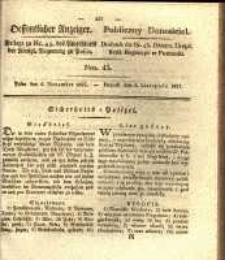 Oeffentlicher Anzeiger. 1827.11.06 Nro.45