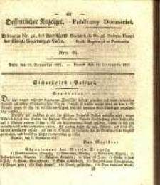 Oeffentlicher Anzeiger. 1827.11.13 Nro.46