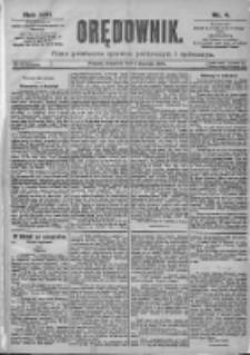 Orędownik: pismo dla spraw politycznych i spółecznych 1899.01.05 R.29 Nr4