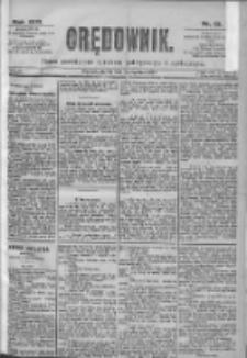 Orędownik: pismo dla spraw politycznych i spółecznych 1899.01.17 R.29 Nr13