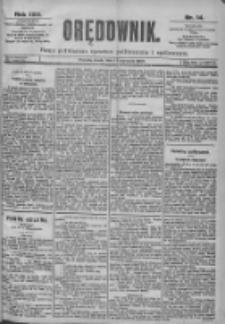 Orędownik: pismo dla spraw politycznych i spółecznych 1899.01.18 R.29 Nr14