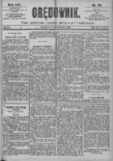 Orędownik: pismo dla spraw politycznych i spółecznych 1899.03.01 R.29 Nr49