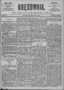 Orędownik: pismo dla spraw politycznych i spółecznych 1899.03.08 R.29 Nr55