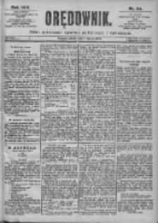 Orędownik: pismo dla spraw politycznych i spółecznych 1899.03.11 R.29 Nr58
