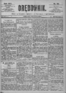 Orędownik: pismo dla spraw politycznych i spółecznych 1899.03.24 R.29 Nr69