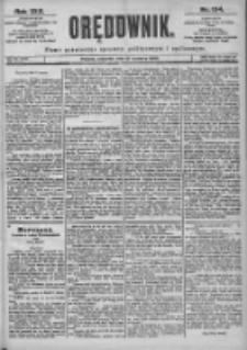 Orędownik: pismo dla spraw politycznych i spółecznych 1899.06.15 R.29 Nr134