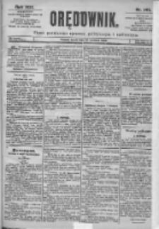 Orędownik: pismo dla spraw politycznych i spółecznych 1899.06.28 R.29 Nr145