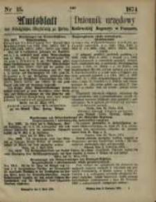 Oeffentlicher Anzeiger. 1874.04.09 Nr 15