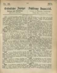 Oeffentlicher Anzeiger. 1874.06.04 Nr 23