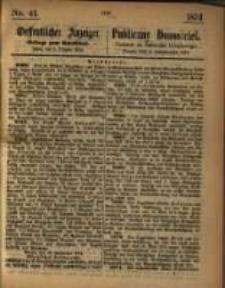 Oeffentlicher Anzeiger. 1874.10.08 Nr 41