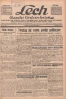 """Lech.Gazeta Gnieźnieńska: codzienne pismo polityczne dla wszystkich stanów. Dodatki: tygodniowy """"Lechita"""" i powieściowy oraz dwutygodnik """"Leszek"""" 1935.05.29 R.36 Nr124"""
