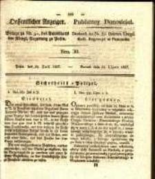 Oeffentlicher Anzeiger. 1827.07.24 Nro.30