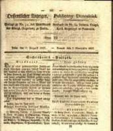 Oeffentlicher Anzeiger. 1827.08.07 Nro.32