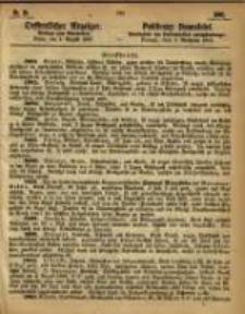 Oeffentlicher Anzeiger. 1865.08.01 Nro.31