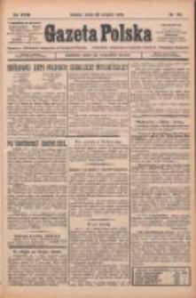 Gazeta Polska: codzienne pismo polsko-katolickie dla wszystkich stanów 1924.08.20 R.28 Nr191