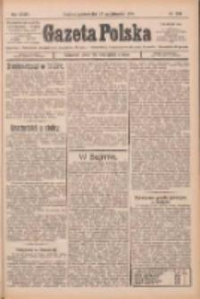 Gazeta Polska: codzienne pismo polsko-katolickie dla wszystkich stanów 1924.10.27 R.28 Nr249