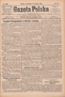 Gazeta Polska: codzienne pismo polsko-katolickie dla wszystkich stanów 1925.09.14 R.29 Nr211