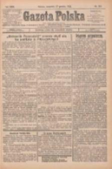 Gazeta Polska: codzienne pismo polsko-katolickie dla wszystkich stanów 1925.12.17 R.29 Nr291