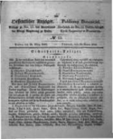 Oeffentlicher Anzeiger. 1848.03.29 Nro.13
