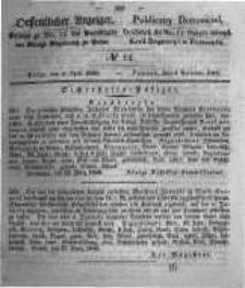 Oeffentlicher Anzeiger. 1848.04.05 Nro.14
