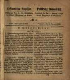 Oeffentlicher Anzeiger. 1853.01.04 Nro.1