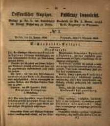 Oeffentlicher Anzeiger. 1853.01.11 Nro.2