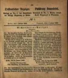 Oeffentlicher Anzeiger. 1853.02.01 Nro.5