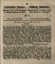 Oeffentlicher Anzeiger. 1853.04.05 Nro.14