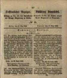 Oeffentlicher Anzeiger. 1853.05.17 Nro.20