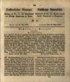 Oeffentlicher Anzeiger. 1853.05.24 Nro.21